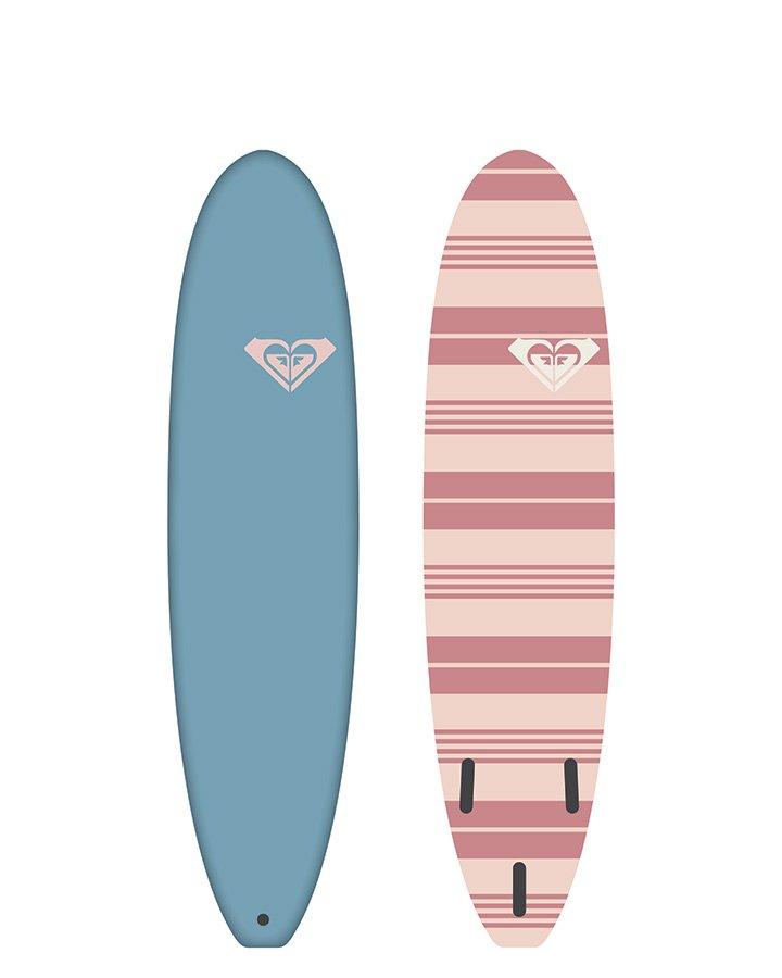 striped surfboard