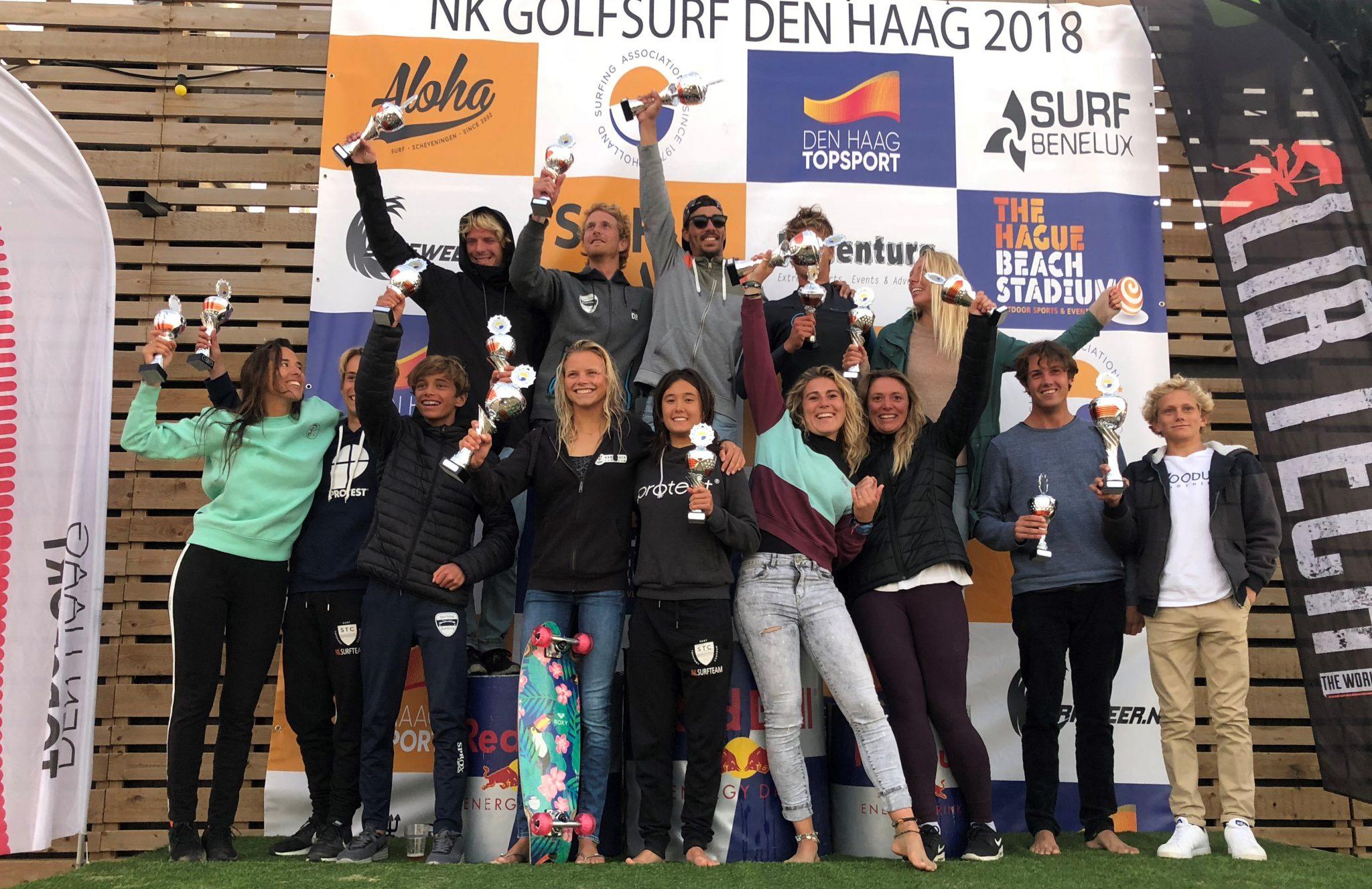 NK-Surftour 2019 op Texel
